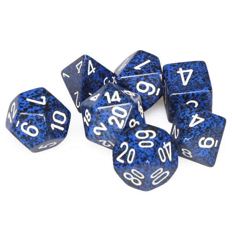 DnD Dice - Chessex - Speckled Stealth