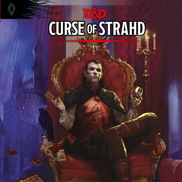 D&D Curse of Strahd  ||  Dungeons & Dragons 5th Edition: Books