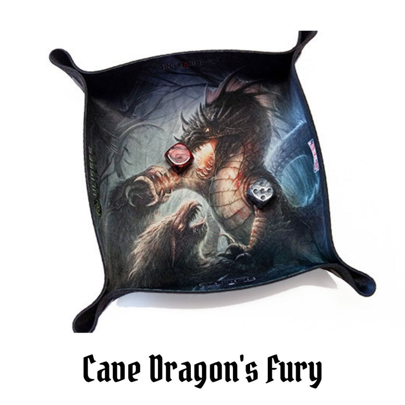 Dice Trays Australia - All Rolled Up - Cave Dragon's Fury