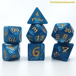 DnD Dice - Dice Hub - The Kraken Unleashed - Giant 7-Die Set