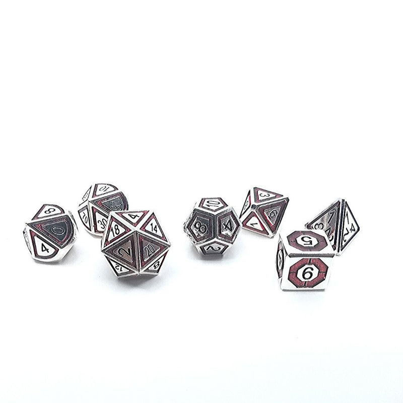 DnD Dice - Blood & Steel