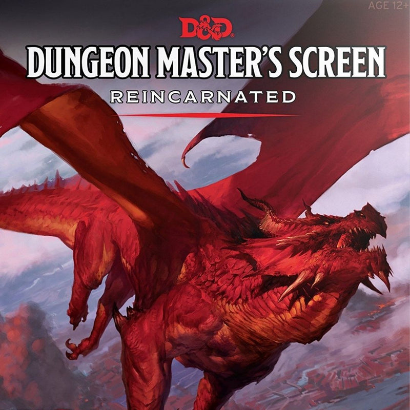 DM Screens - D&D DM Screen Reincarnated