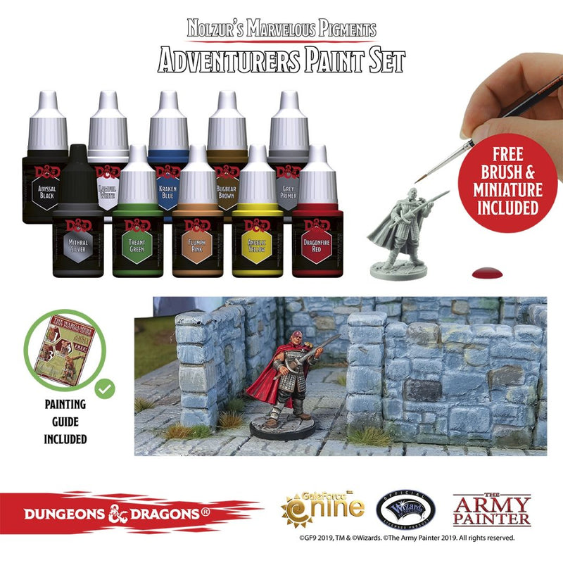 DND Paint Set - Adventurers Paint Set