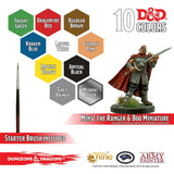 D&D Paint Set - Minsc & Boo exclusive miniature