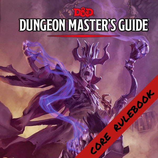 D&D Dungeon Masters Guide  ||  Dungeons & Dragons 5th Edition: Books