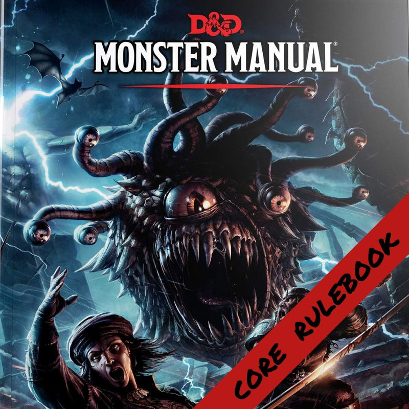 D&D Monster Manual  ||  Dungeons & Dragons 5th Edition: Books