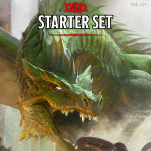 D&D Starter Set (Includes Dice!)  ||  Dungeons & Dragons 5th Edition: Books