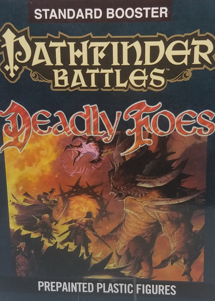 Pre Painted Pathfinder Minis - Deadly Foes Booster
