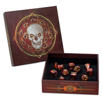 DnD Dice - D&D Dice Set - Baldurs Gate Descent Into Avernus Dice Set