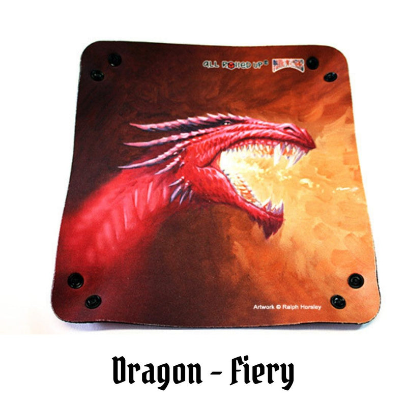 Dice Trays - All Rolled Up - Fiery Red Dragon