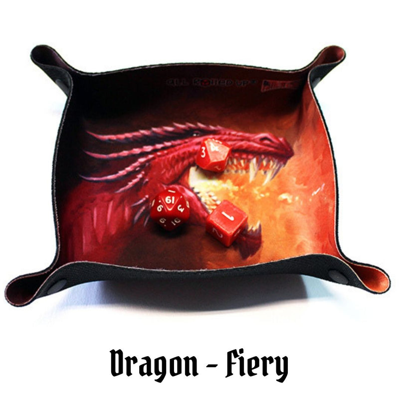Dice Trays Australia - All Rolled Up - Fiery Red Dragon