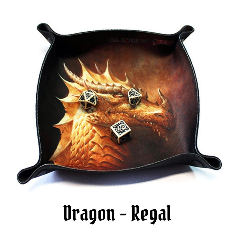 Dice Trays Australia - All Rolled Up - Regal, Gold Dragon