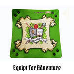 All Rolled Up UK - Equipt for Adventure - Square Dice Tray 1pc - Laid falt
