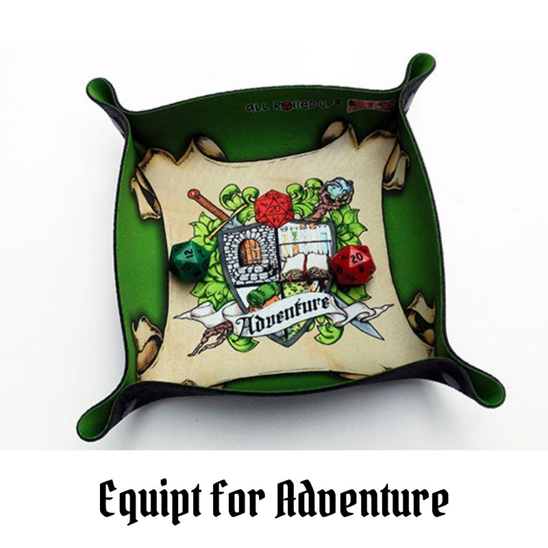 Dice Trays Australia - All Rolled Up - Equipped for Adventure