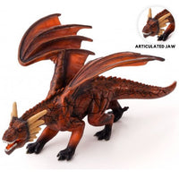 D&D Miniatures - Gargantuan Red Dragon with Moving Jaw - Mojo Pre-painted minis