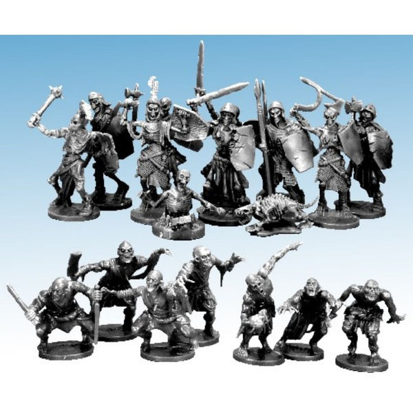Bulk D&D Miniatures - Undead Encounters - Skeletons - Zombie - Ghoulss