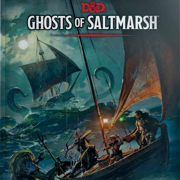 D&D Ghosts of Saltmarsh  ||  Dungeons & Dragons 5th Edition: Books