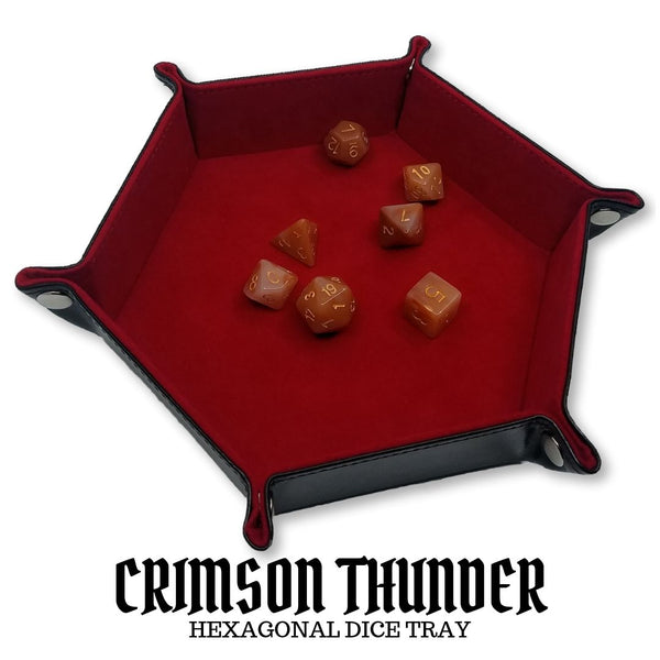 Dice Tray - Dice Hub - Crimson Thunder