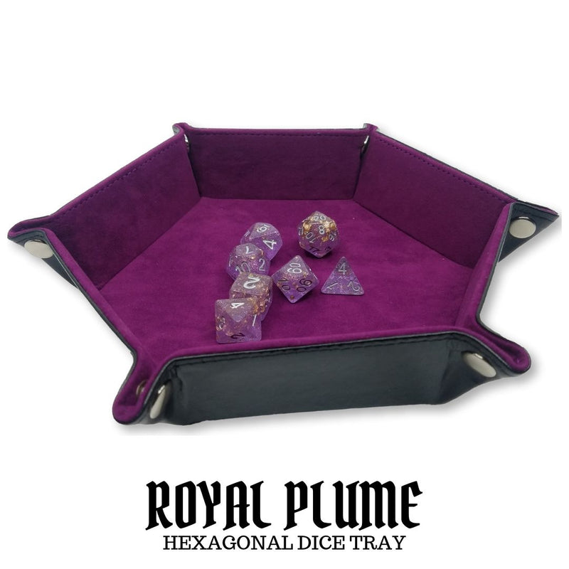 Dice Trays Australia - Dice Hub - Royal Plume