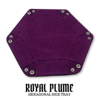 D&D Dice Trays - Dice Hub - Royal Plume Purple
