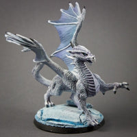 Reaper Miniatures - Silver Dragon - painted