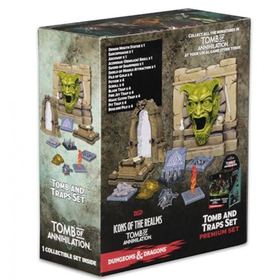 D&D Minis - Traps & Hazards Set