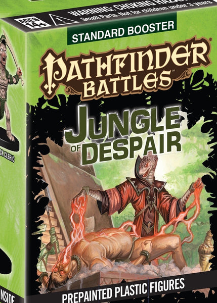 Pre Painted Pathfinder Minis - Jungle of Despair Booster