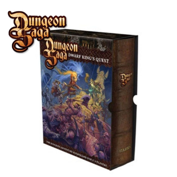 MGDS01-6 Dungeon Saga The Dwarf Kings Quest Boxed Game - Packaging