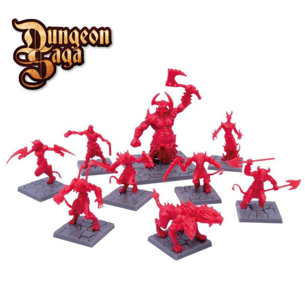Denizens of the Abyss 9pk (Demons, Succubus & Hellhound)  ||  Mantic Games: Dungeon Saga