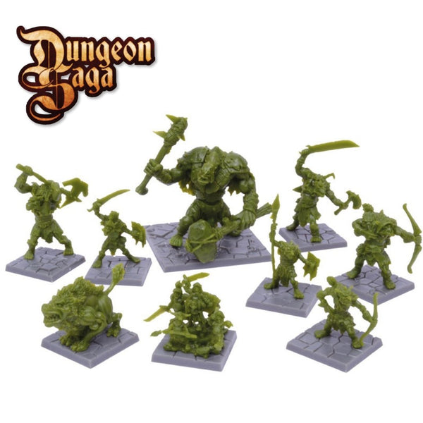 MGDS20 Green Rage 9pk (Goblins, Orcs, Troll & More Monsters)
