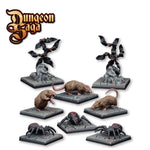Mantic Games #MGDS27 Dungeon Saga Critters 8pk - Painted Examples