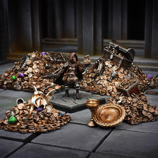 TerrainCrate Dragon's Hoard 5pk  ||  Terrain & Scenery for 28mm Tabletop Gaming