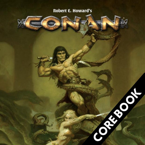 Conan RPG - Core Book