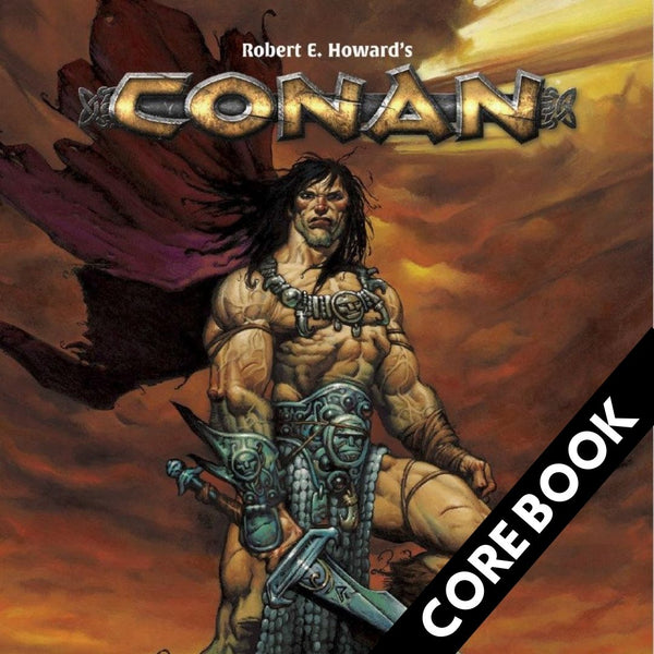 Conan RPG - Core Book - Player's Guide