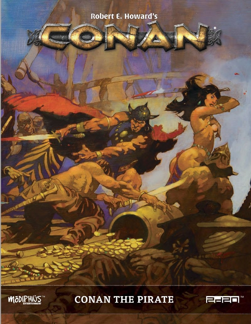 Conan RPG - Conan the Pirate Sourcebook
