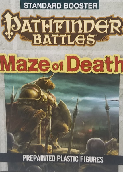 Pre Painted Pathfinder Minis - Maze of Death Booster
