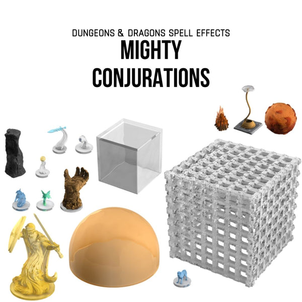D&D Spell Effects: Mighty Conjurations - Prepainted D&D minis