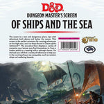 DM Screens - D&D DM Screen - Of Ships and The Sea