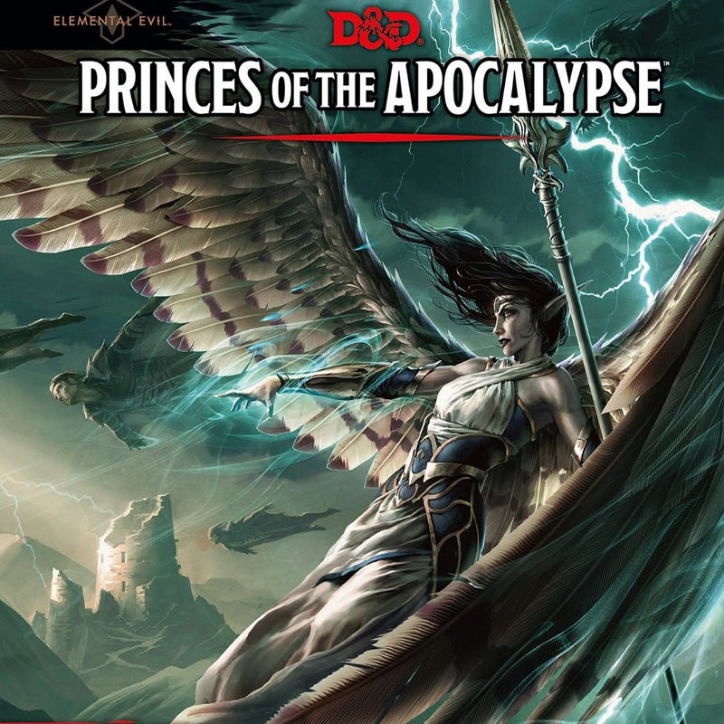 D&D Elemental Evil Princes of the Apocalypse  ||  Dungeons & Dragons 5th Edition: Books
