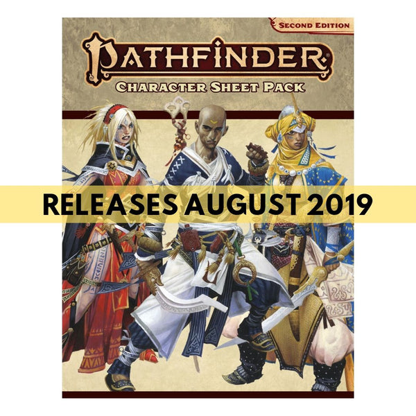 Pathfinder 2E Character Sheet Pack || Pathfinder: Second Edition