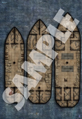 bigger ship battlemat for dnd pathfinder rpg