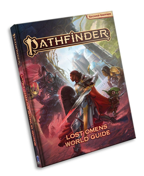 Paizo #PZO9301 Pathfinder 2E Lost Omens World Guide Hardcover Book