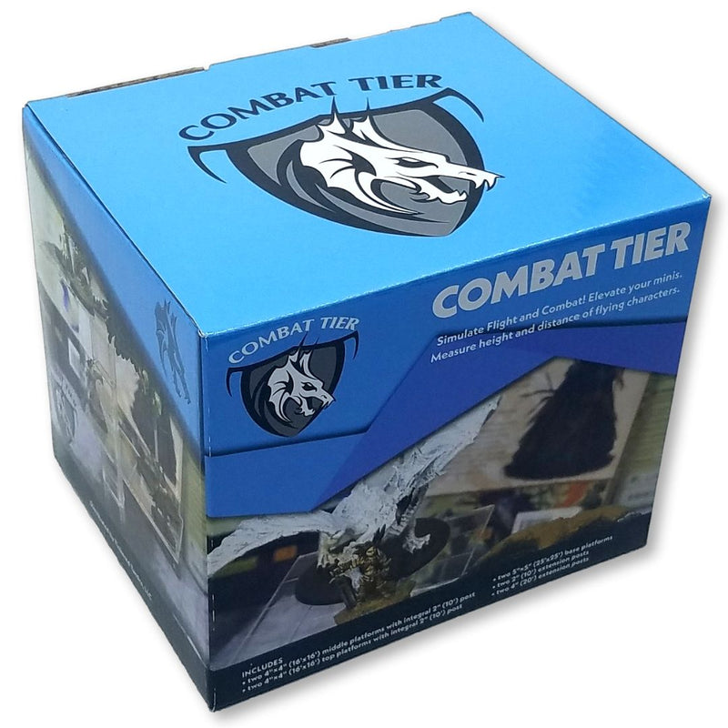 TTLCT001 Combat Tiers Base Set 10pk - Boxed