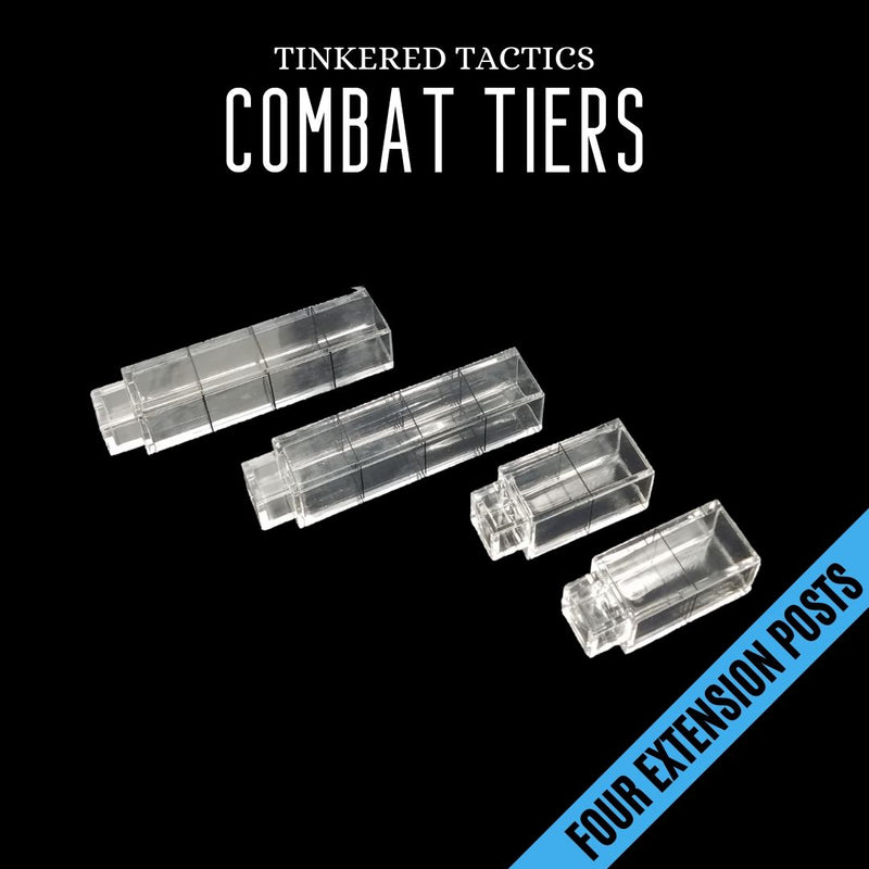 TTLCT001 Combat Tiers Base Set 10pk - Four Extension Posts