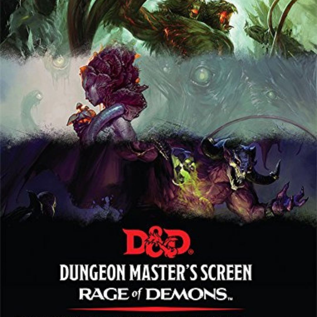 D&D Rage of Demons DM Screen || Dungeon Master Accessories