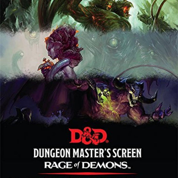 DM Screens - D&D DM Screen - Rage of Demons