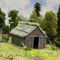 Medieval Timber Outbuilding  (Plastic Kit)  ||  Renedra: Quality Wargaming Accessories