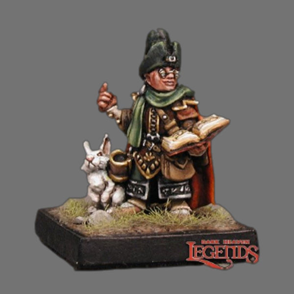 Reaper Miniatures - Male Halfling Wizard with Rabbit - Painted