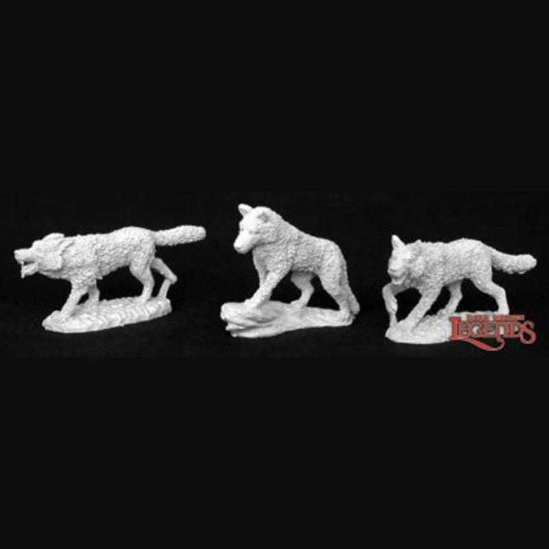 Reaper Miniatures - Wolves