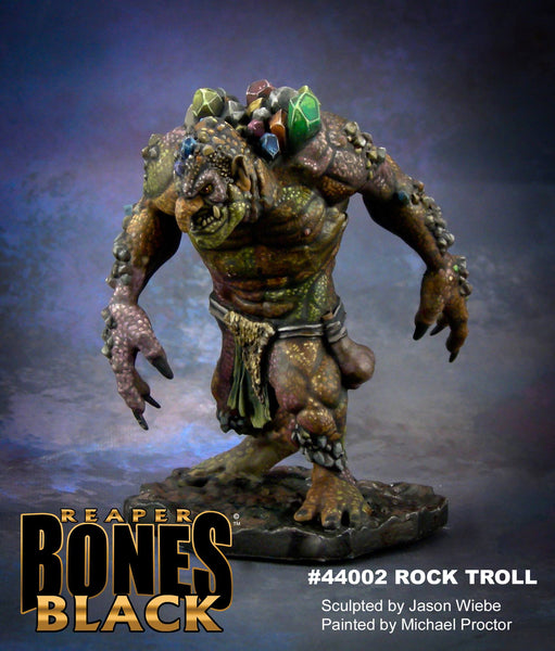 Reaper Miniatures - Rock Troll - painted